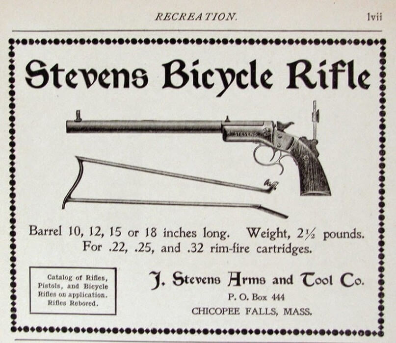STEVENS-22-25-32-Rim-Fire-Bicycle-Rifle
