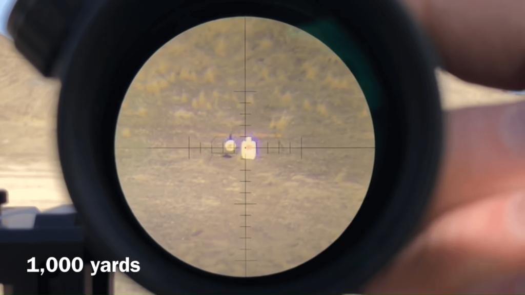 clarity of Sightron SIII 10-50x60 long range scope