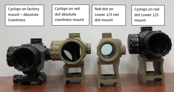 Primary Arms Cyclops-On-Mounts